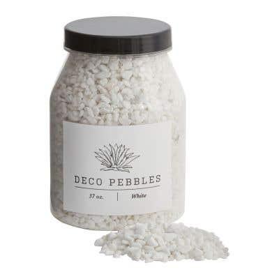 Deco Pebbles 37oz White