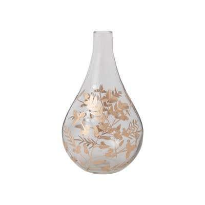 "Gild Leaf Vase 8.75"" X 14"""