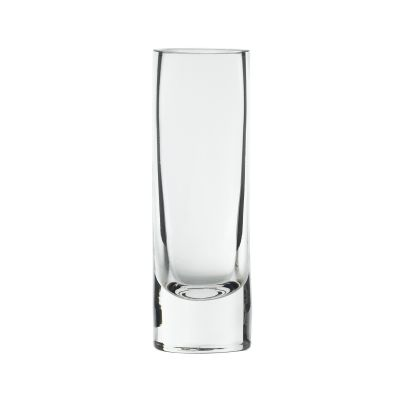 """Fat Cylinder Vase 2""""x6"""" Clear"""