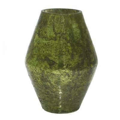 """Viper Vase 4.5""""x 6"""" Green"""