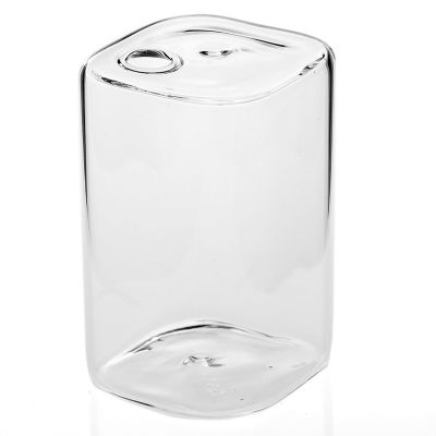 "Flora Vase 2.5""x3.5"" Clear"