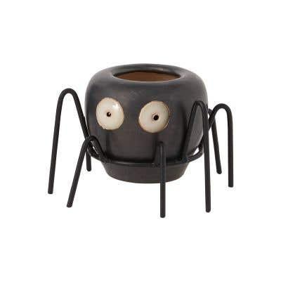 """Wikki Spider Budvase 3""""x 2.5"""""""