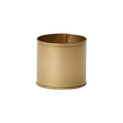"Bryant Pot 3.25""x 3"" Gold"