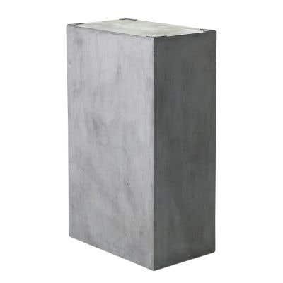"Newport TableBase 20""x12""x32.7""Grey"