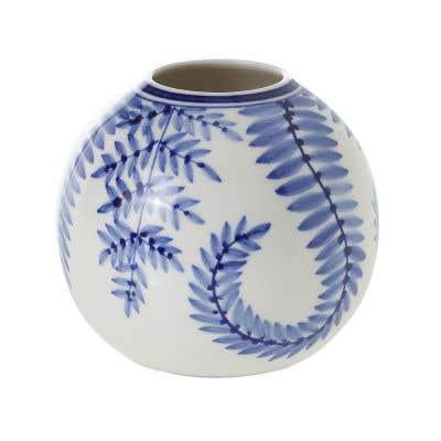 "Blue Ivy Vase 4""x 3.5"""