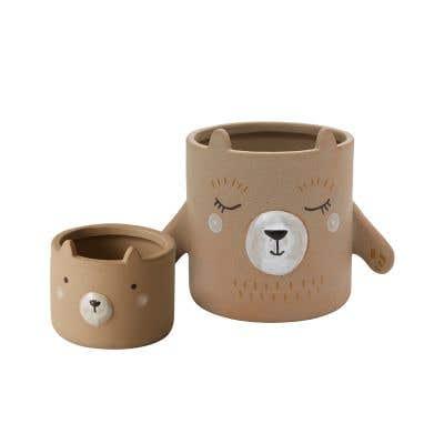Bear Hug Pot