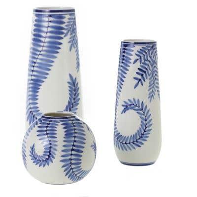 Blue Ivy Vase