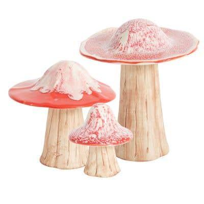 Dinah Mushroom Figurine