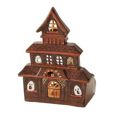 Haunted House Candleholder