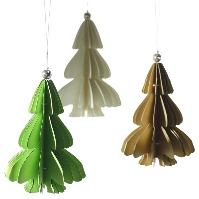 Holiday Paper Tree Ornament