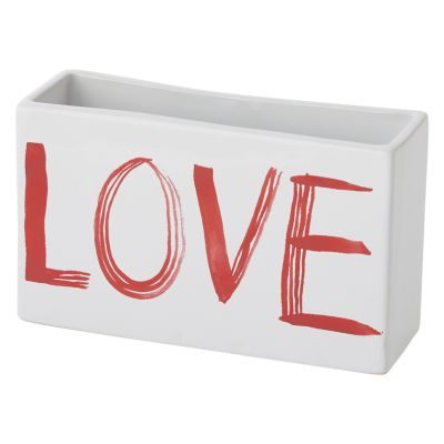 Painted Love Planter