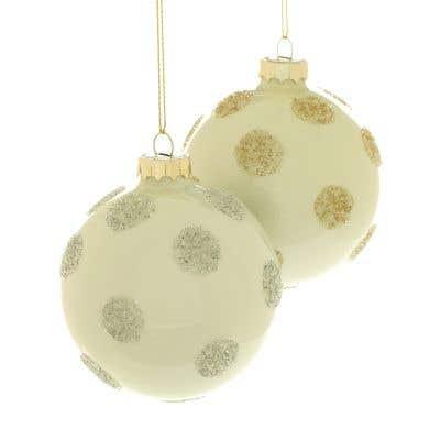 Polka Dot Ornament