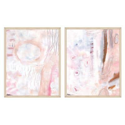 Studies in Wellness Framed Art
