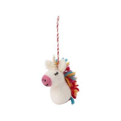 Yanni Unicorn Ornament