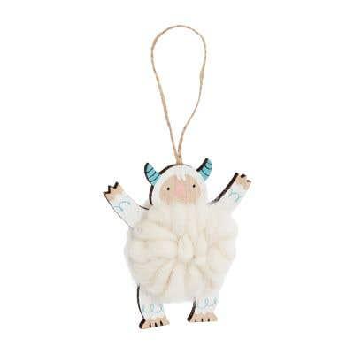 Yeti Cuddle Ornament