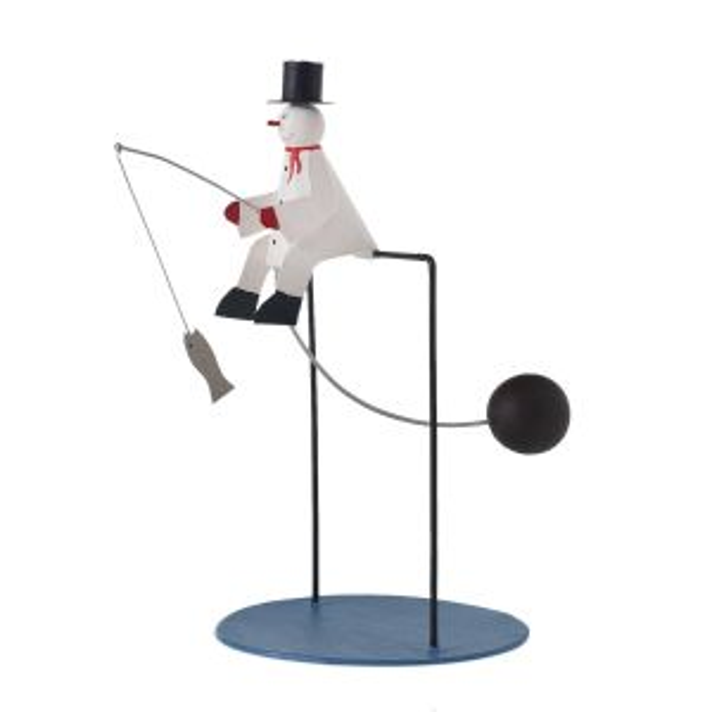 "Playtime Snowman 7.75""x 4""x 7.75"""