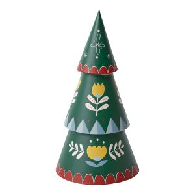 """Be Merry Tree 6.25""""x 12"""""""