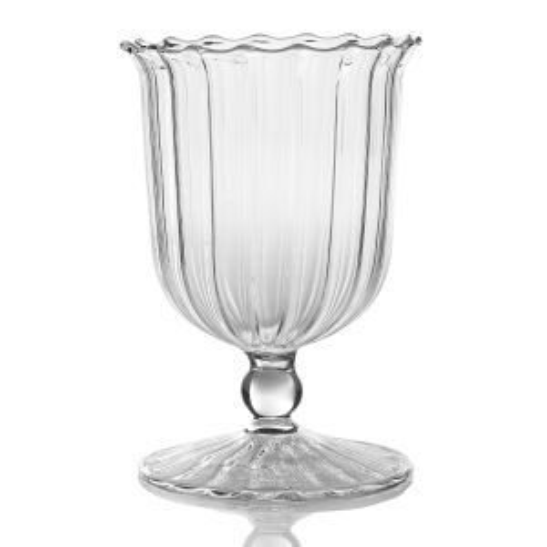 "April Vase/Votive 3.5""x 5"""