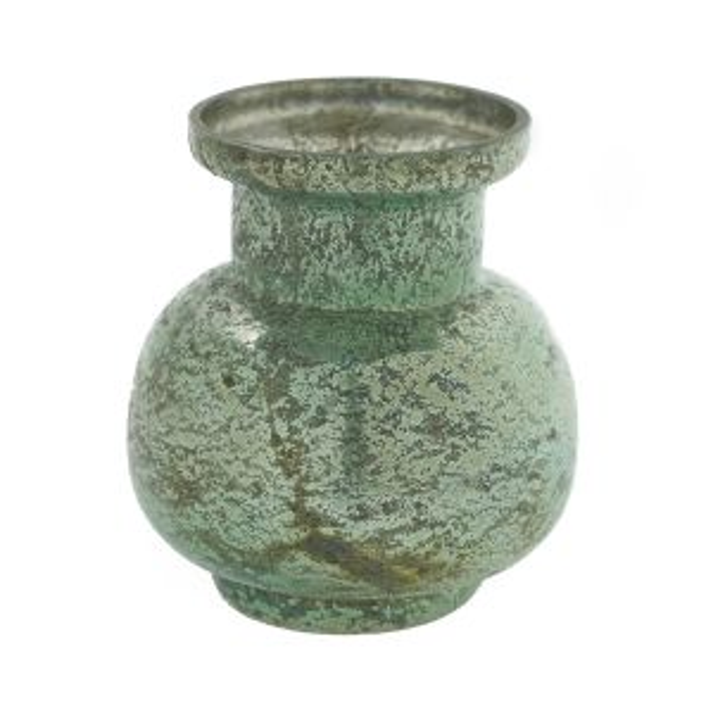"Suncoo Vase 4""x 4.5"" Seafoam"