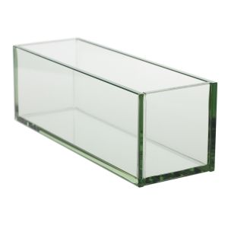 "Glass Plate Planter 12""x4""x4"""