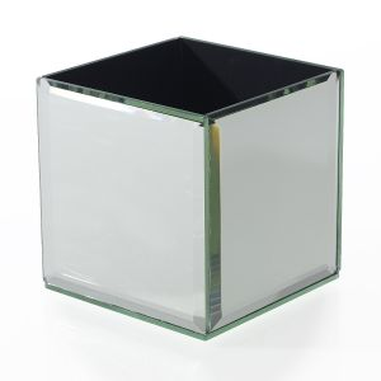 """Mirror Cube 4"""" x 4"""" x 4"""""""