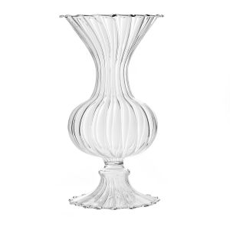 "Addi Vase 3""x 6"" Clear"