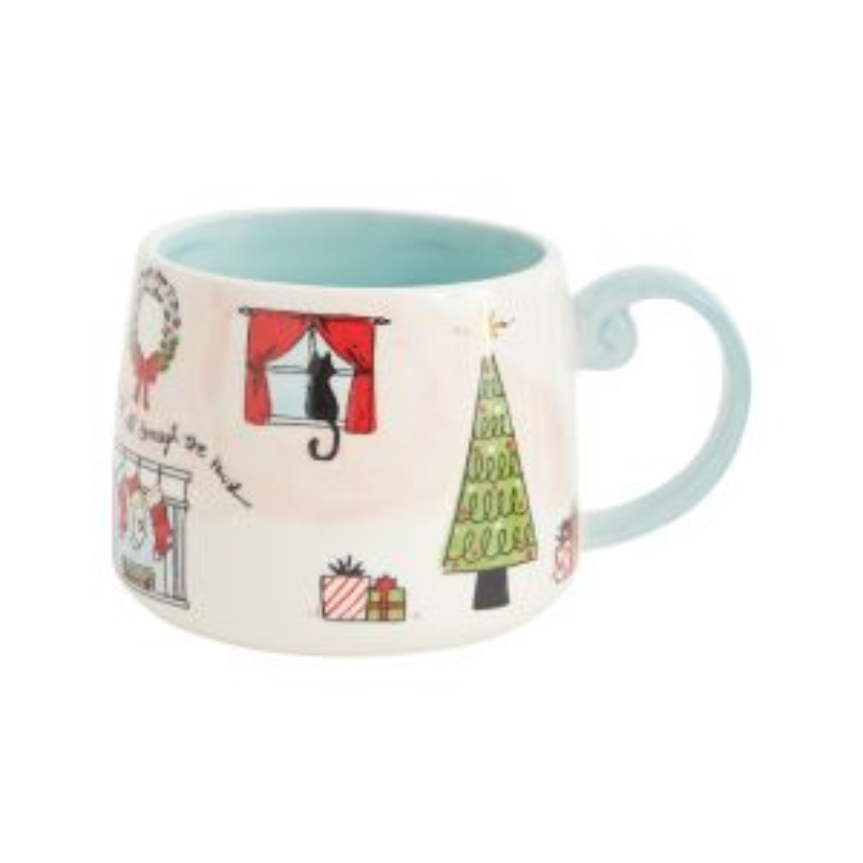 """Christmas Morning Mug6.25""""x4.75""""x4"""""""