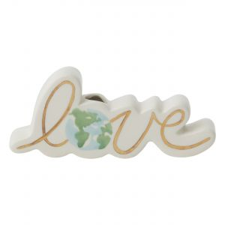 "Earth Love Budvase 5.75""x 1""x 2.25"""