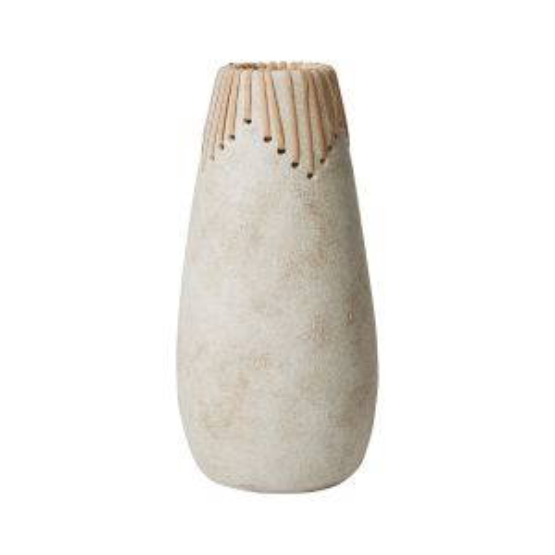"Alaya Vase 5.5""x 11.5"""
