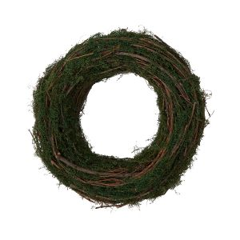 "Underbrush Wreath 11.75""x 3"""