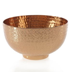 "Copper Etched Bowl 6.25""x3.5"""