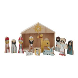 "Bethlehem Nativity 12""x 2.5""x 9.5"""