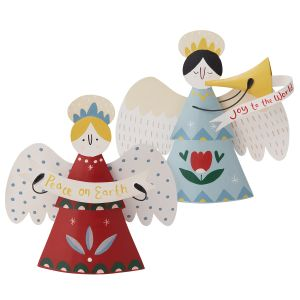 Caroling Angel Figurine