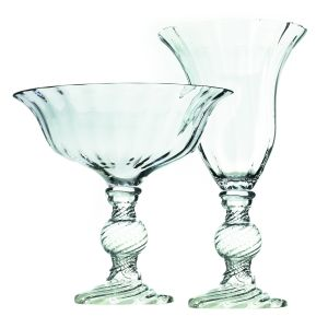 Carol Vase and Compote