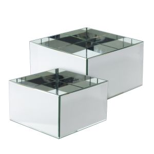 SALE Mirror Cube and Planter