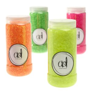 Neon Crushed Glass