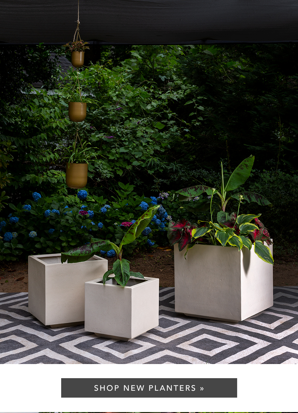 Shop New Outdoor Planters