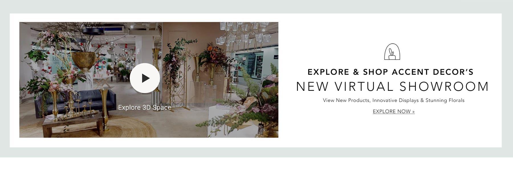 Explore & Shop Accent Decor's New Virtual Showroom