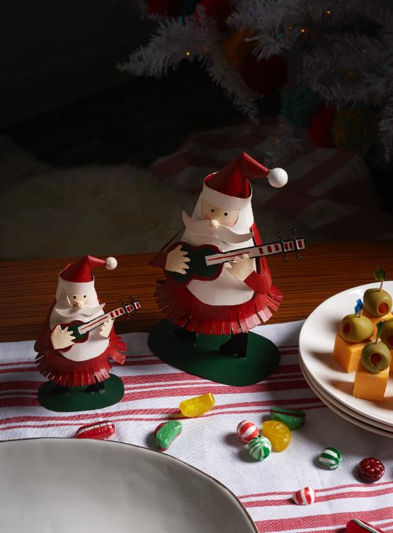 Shop Rockin' Santa Figurine