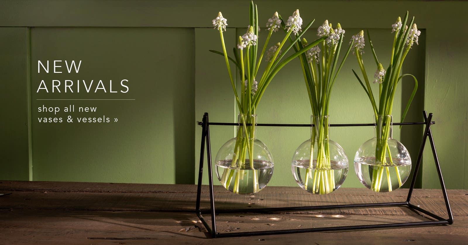 Shop New Vases & Vessels