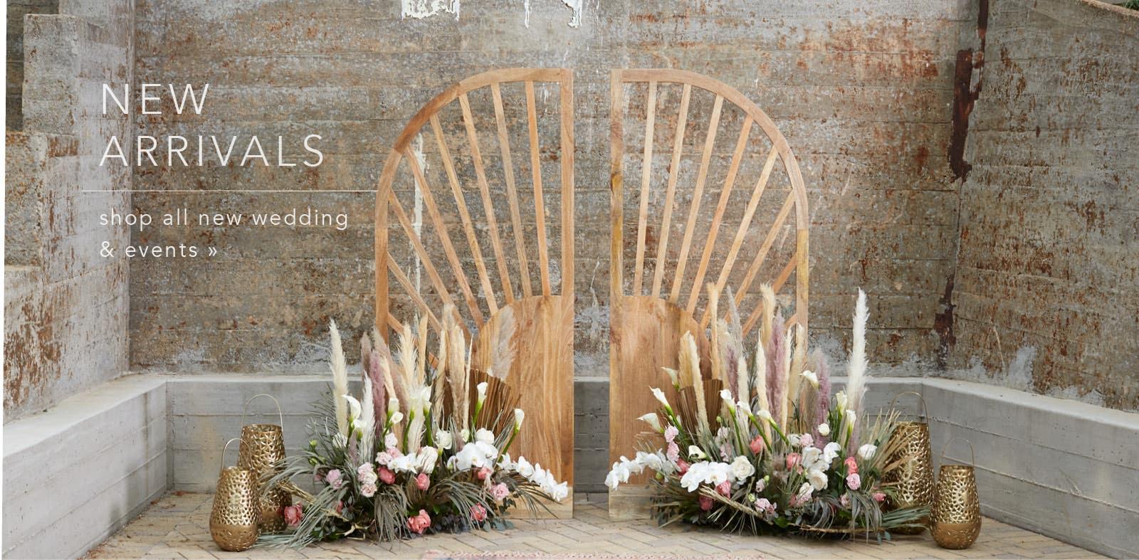 Shop New Wedding & Event