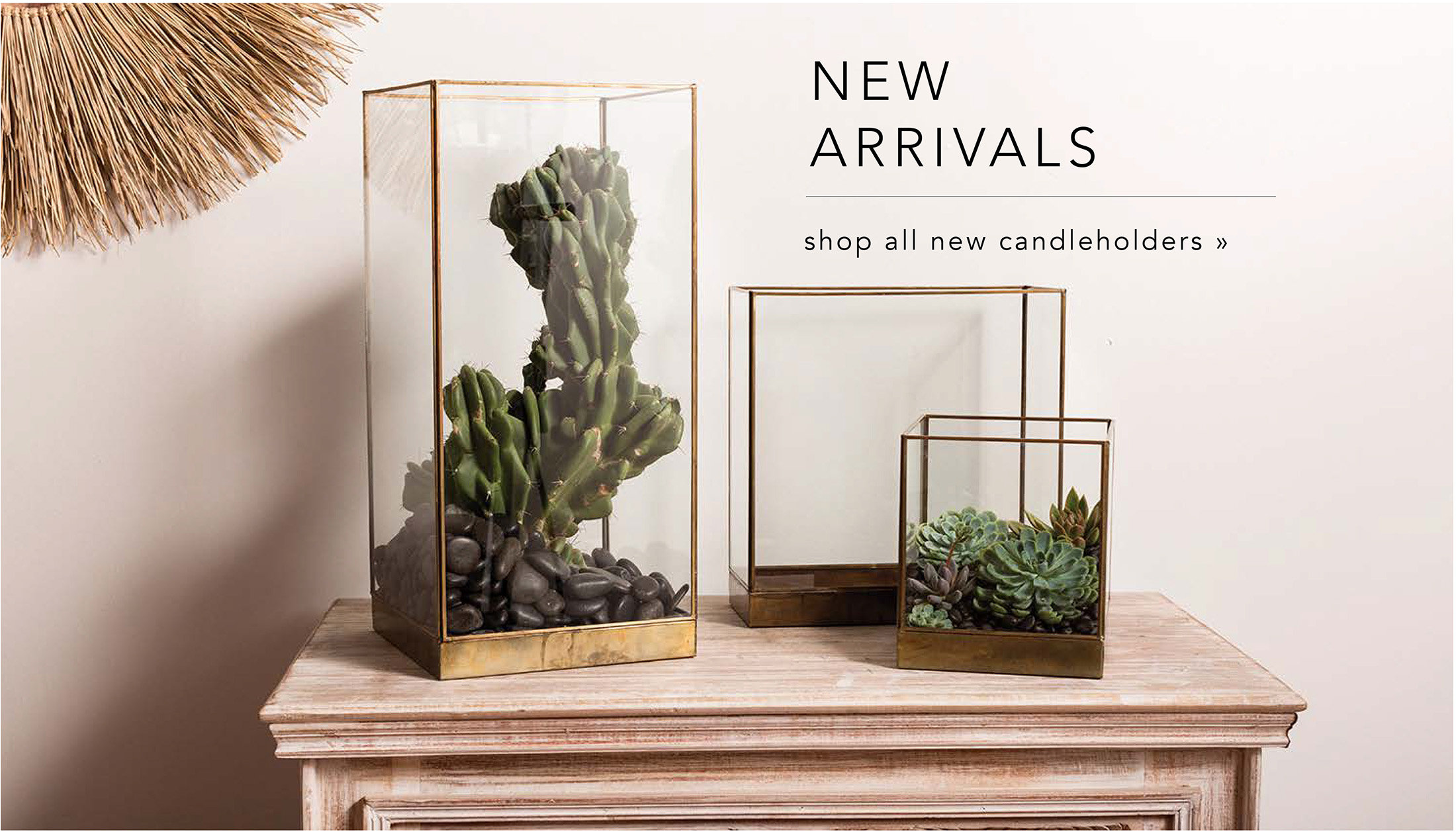 Shop New Candles & Candleholders